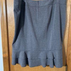 Lane Bryant Skirts - Cute Grey Skirt